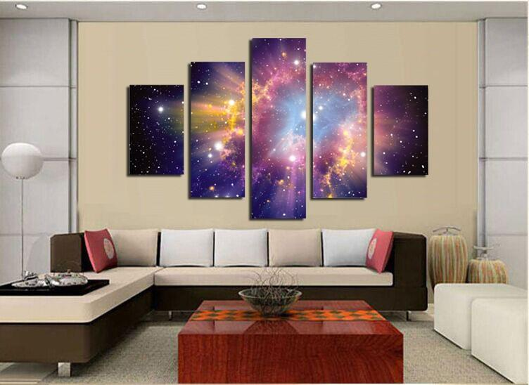 Colorful Purple Galaxy - It Make Your Day