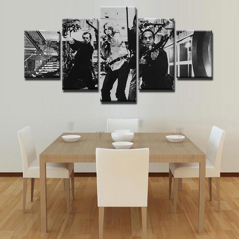 5 Piece Dawn of the Dead Movie Canvas Painting Wall Art - It Make Your Day