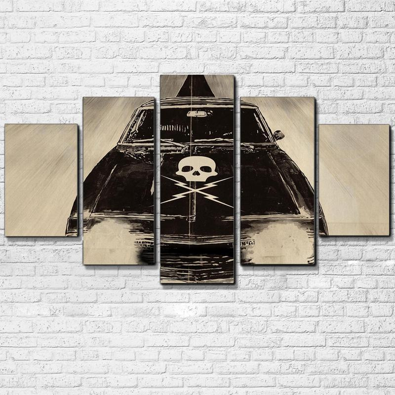 5 Piece Death Proof Movie Canvas Painting Wall Art - It Make Your Day