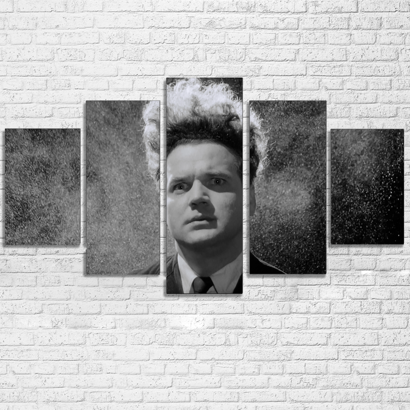5 Piece Eraserhead Movie Canvas Painting Wall Art - It Make Your Day