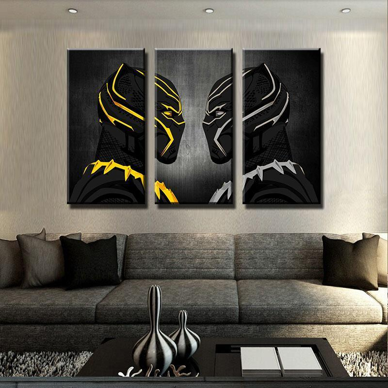 3 Piece Face To Face Movie Canvas Wall Art Paintings - It Make Your Day