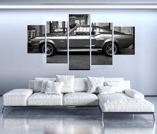 5 Pieces Ford Mustang GT500 Eleanor Canvas - It Make Your Day