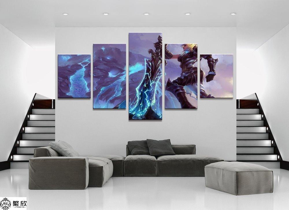 5 Piece Riven League of Legends LOL Canvas Wall Art Paintings For ...