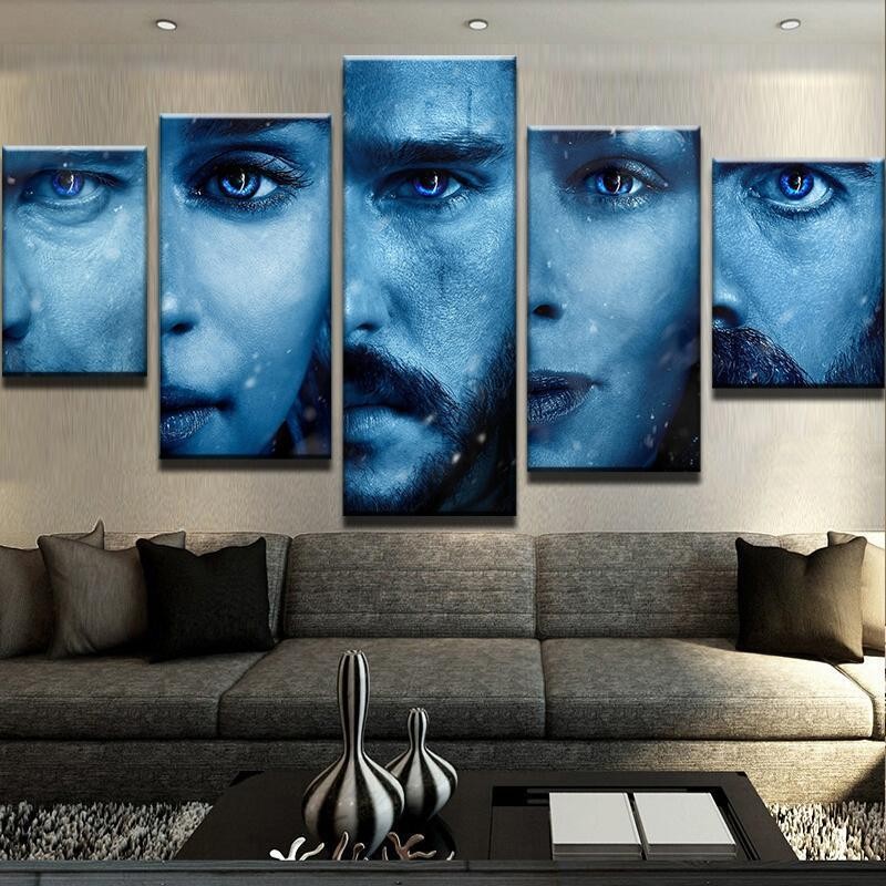 5 Piece Got Canvas Wall Art Paintings - It Make Your Day
