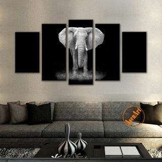 Black Animal Africa Elephant - It Make Your Day