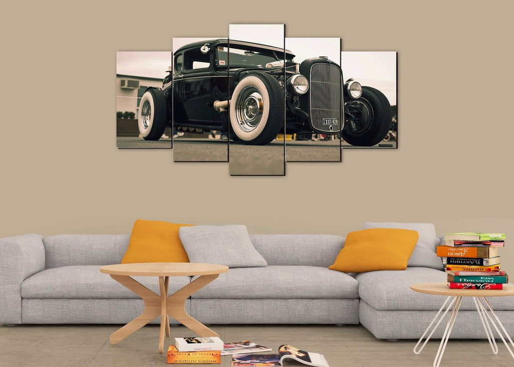 Classic Black Hot Rod - It Make Your Day