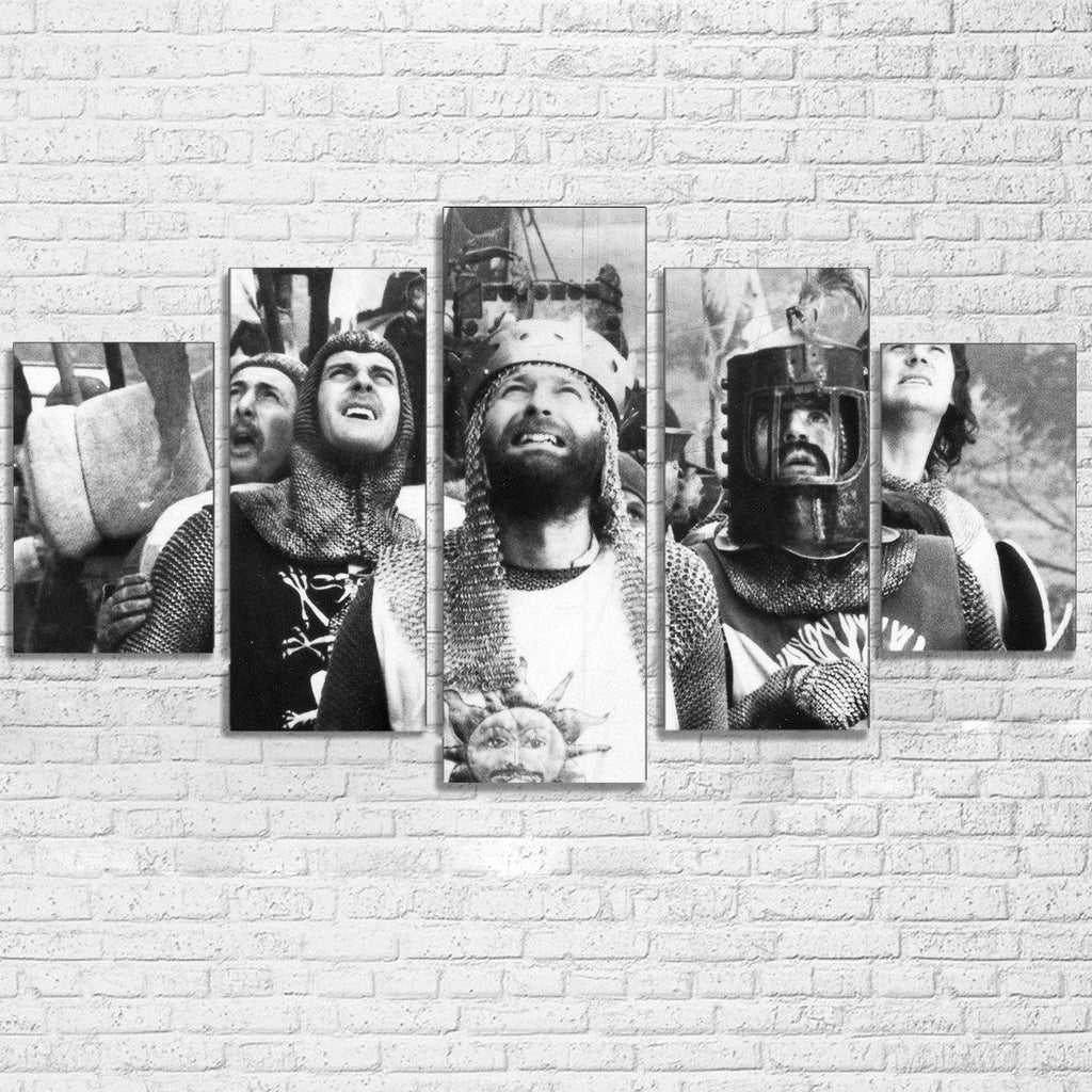 5 Piece The Holy Grail Movie Canvas Wall Art Paintings - It Make Your Day