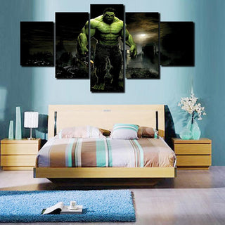 5 Piece Hulk Movie Canvas Painting Wall Art - It Make Your Day