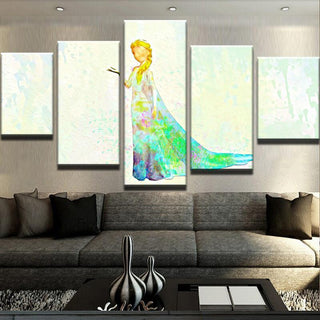 5 Piece Ice Queen Canvas Wall Art Paintings - It Make Your Day