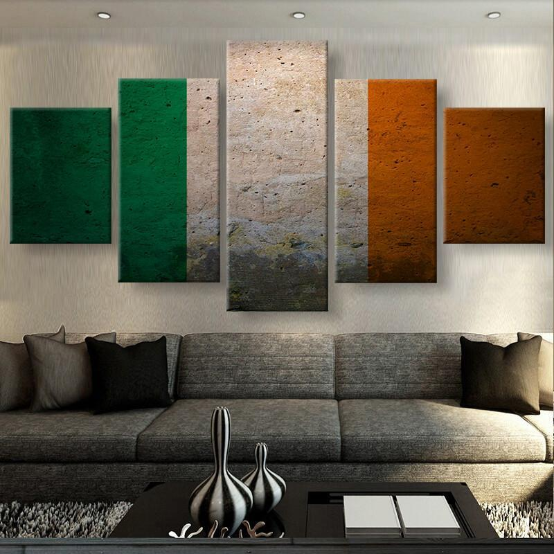 5 Piece Irish Pride Canvas Wall Art Paintings - It Make Your Day