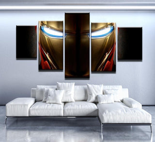 5 Piece Iron Man Print Canvas Wall Art Paintings - It Make Your Day