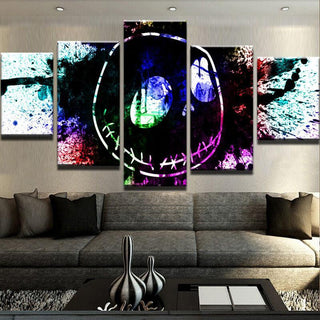 5 Piece Jack Abstract Canvas Wall Art Paintings - It Make Your Day
