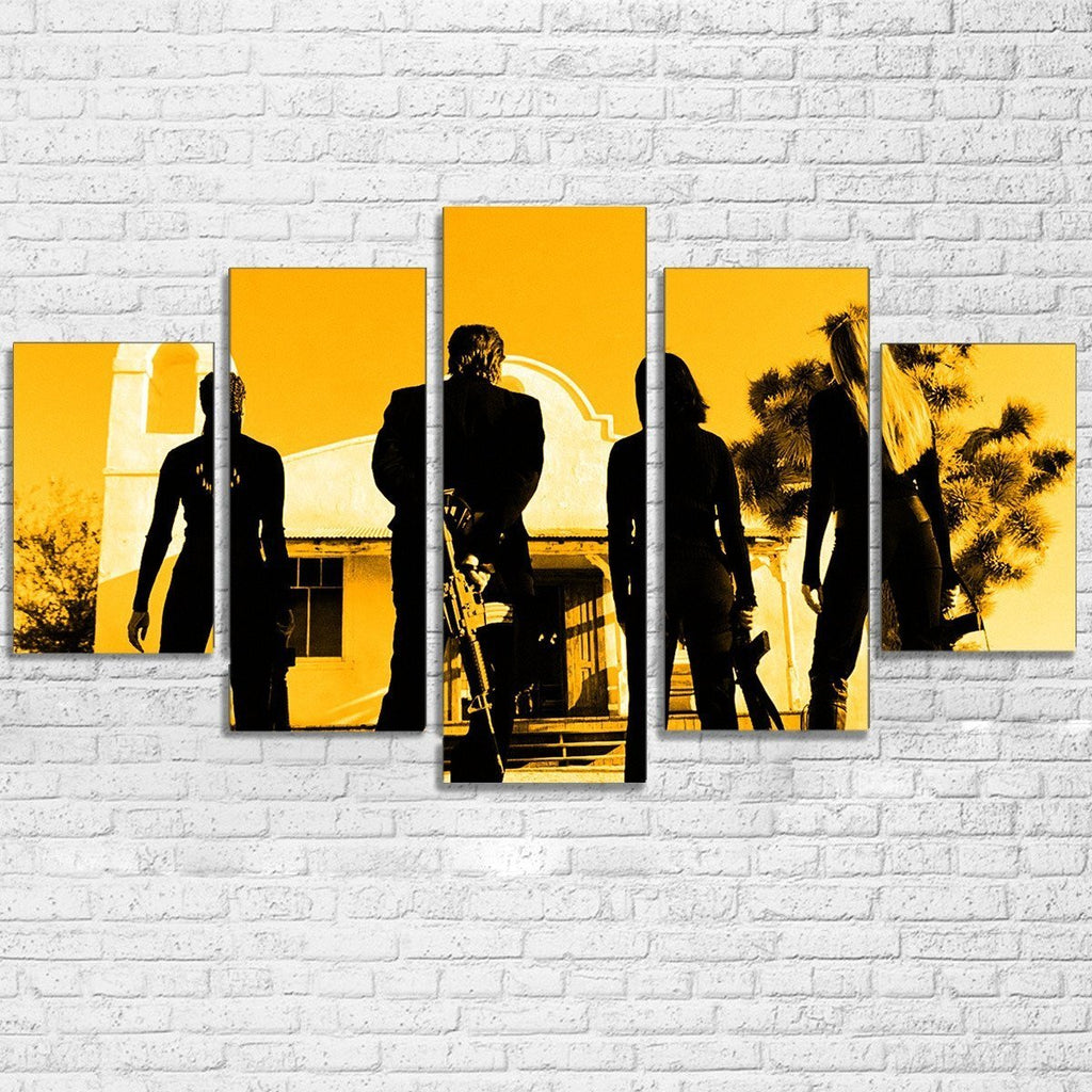 5 Piece Kill Bill Movie Canvas Wall Art Paintings For Sale – It Make ...