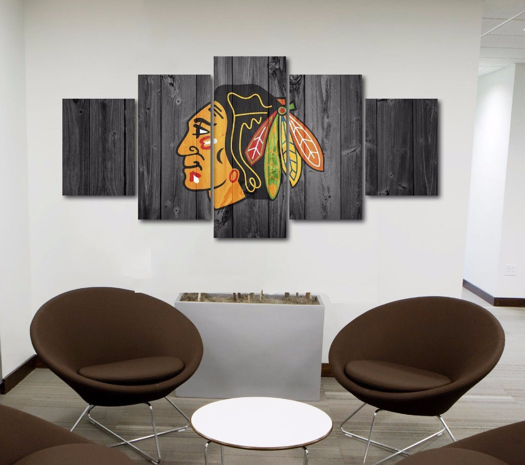 Chicago Blackhawks 5 Ice Hockey - It Make Your Day