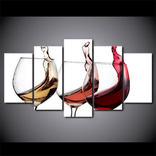 3 Piece Wine Wall Art 2 Canvas Wall Art Sets - It Make Your Day