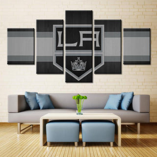 5 Piece Los Angeles Kings 3 Hockey Canvas - It Make Your Day