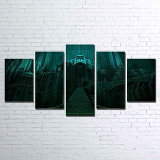 5 Piece Minas Morgul Canvas Paintings Wall Art - It Make Your Day
