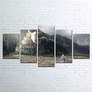 5 Piece Minas Tirith Canvas Paintings Wall Art - It Make Your Day