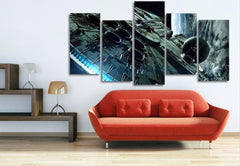 5 Piece Millennium Falcon Star Wars Canvas Painting Wall Art - It Make Your Day