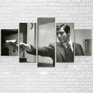 5 Piece Godfather Michael Movie Print Canvas Wall Art Paintings - It Make Your Day