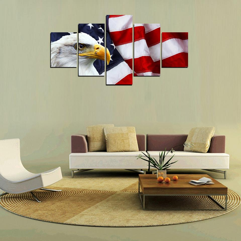 Bright Eagle American Flag - It Make Your Day