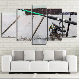 5 Piece Maritime Fishing Boat Canvas Wall Art Sets - It Make Your Day
