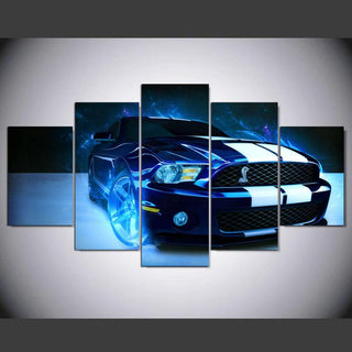 5 Pieces New Shelby Mustang Car Canvas - It Make Your Day
