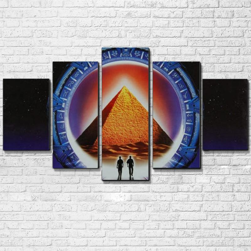 5 Piece Stargate movie Canvas Painting Wall Art - It Make Your Day