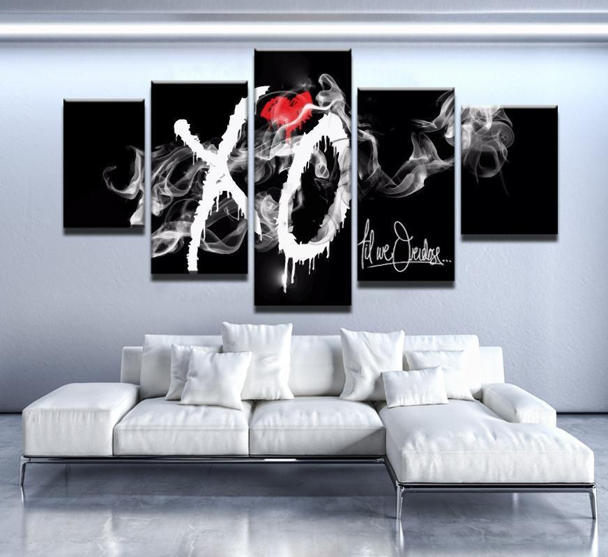 5 Piece Til We Overdose Canvas Wall Art Paintings - It Make Your Day