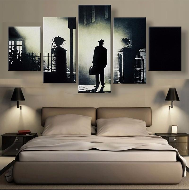 5 Piece The Exorcist Poster Movie Canvas Painting Wall Art - It Make Your Day