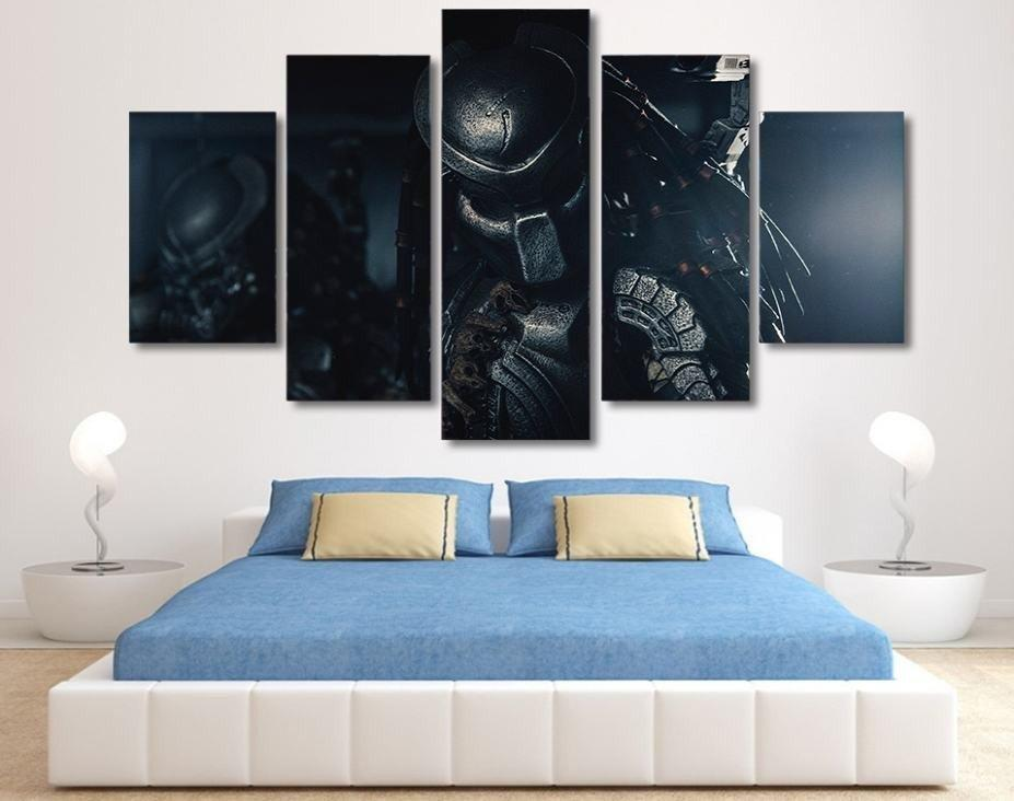 5 Piece The Predator Movie Canvas Painting Wall Art - It Make Your Day