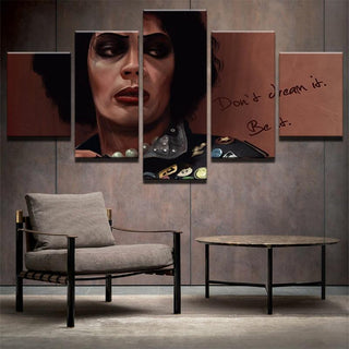 5 Piece The Rocky Horror Picture Show Movie Canvas Painting Wall Art - It Make Your Day