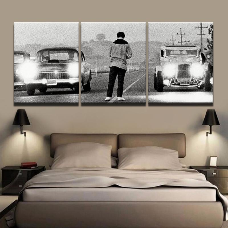 3 Piece Upon a Time in America Movie Retro Canvas Wall Art Paintings - It Make Your Day