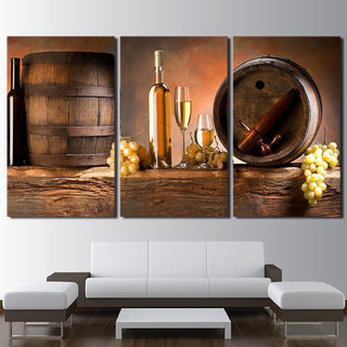 3 Piece Wine Print 28 Canvas Wall Art Paintings - It Make Your Day