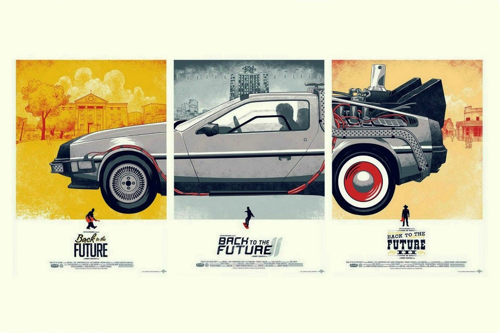 Cars fantasy movies Back to The Future DeLorean - It Make Your Day