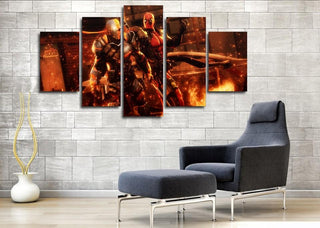 5 Piece Deadpool Movie Canvas Wall Art Paintings Sets - It Make Your Day