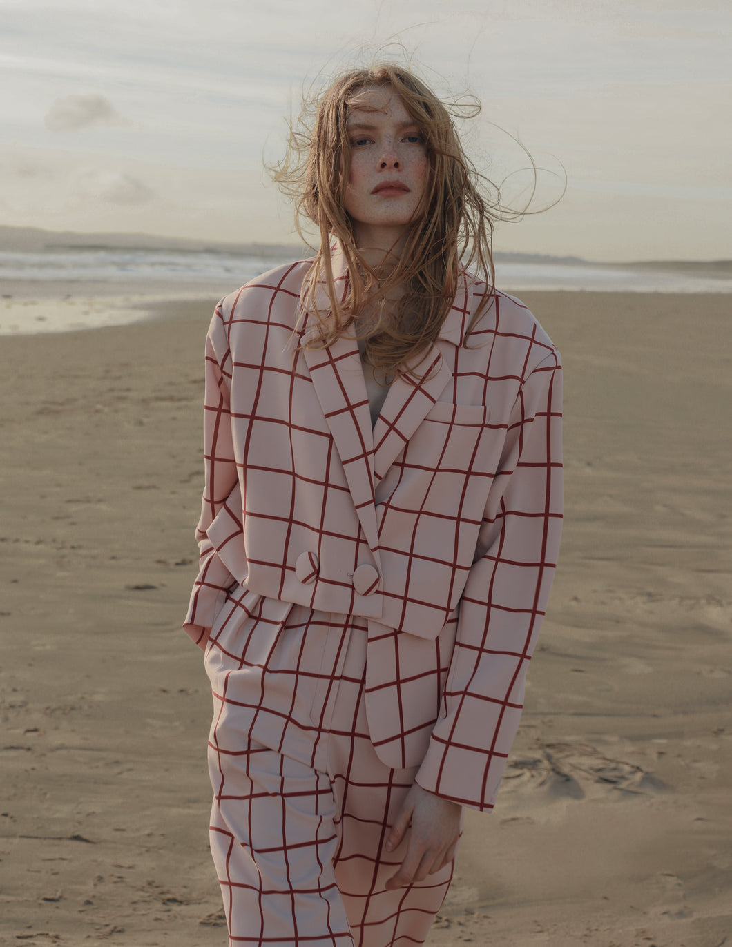 APPAREL Checkered Suit