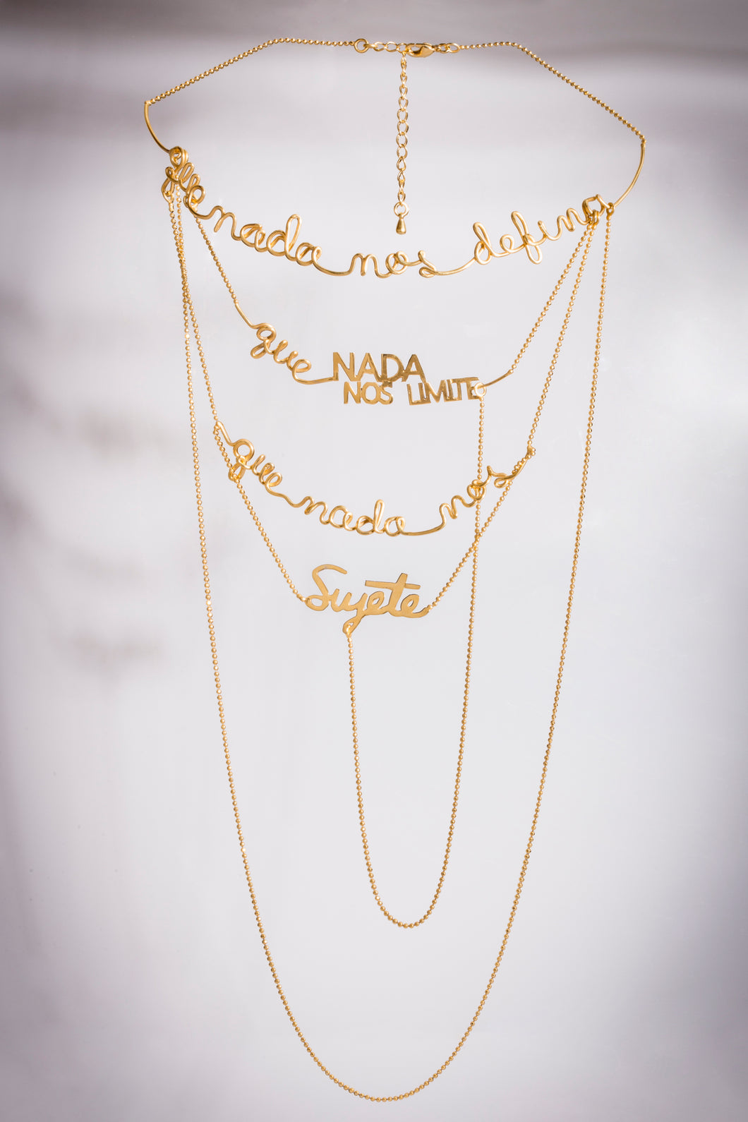 SIMONE COLLECTION/     PRE ORDER ONLY Simone multi layered necklace