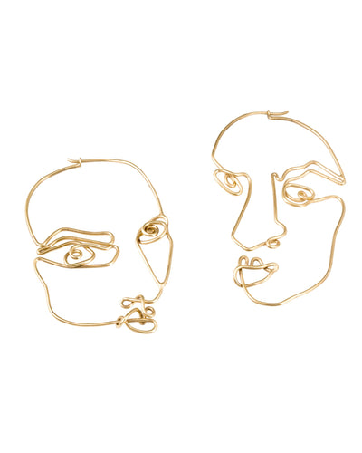 STABILE COLLECTION/ Stabile Face earrings