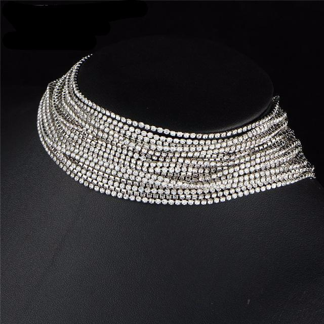 Ice Crystals - Chocker Necklace