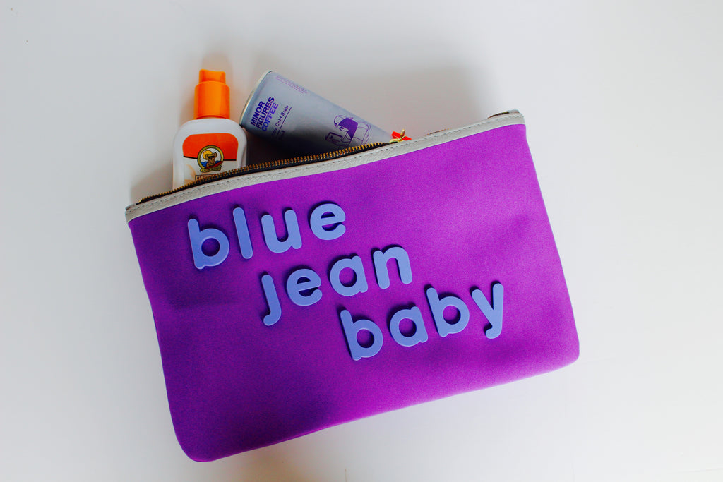Blue Jean Baby in Ultra Violet