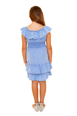 G1005 - Blue Cotton Dress