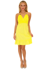 NW1020 - Yellow Cotton Dress