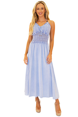 NW1024 - Blue Cotton Dress