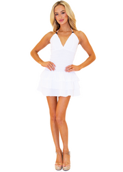 NW1049 - White Cotton Dress