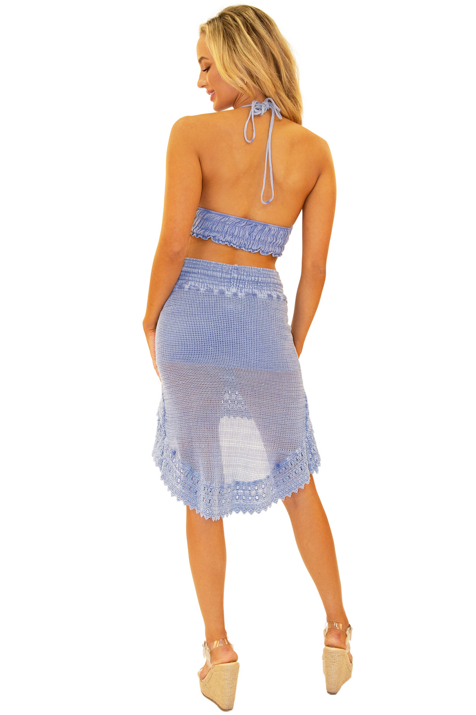 NW1057 - Blue Cotton Skirt