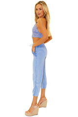 NW1283 - Blue Cotton Pants