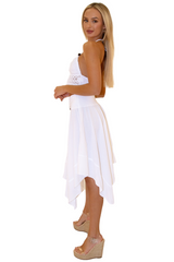 NW1026 - White Cotton Skirt