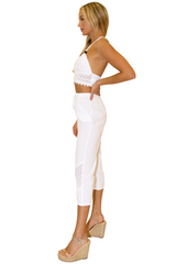 NW1274 - White Cotton Pants