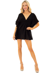NW1073 - Black Cotton Cover-Up